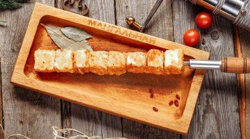 Сырный шашлык
