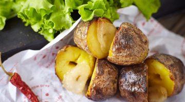 картофель с курдюком
